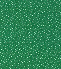 Keepsake Calico Cotton Fabric-Tossed Triangles on Green
