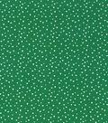 Keepsake Calico Cotton Fabric 43\u0022-Green Tossed Triangles