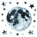 York Wallcoverings Wall Decals-Glow in the Dark Moon