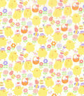 Easter Fabric 43\u0027\u0027-Easter Chicks