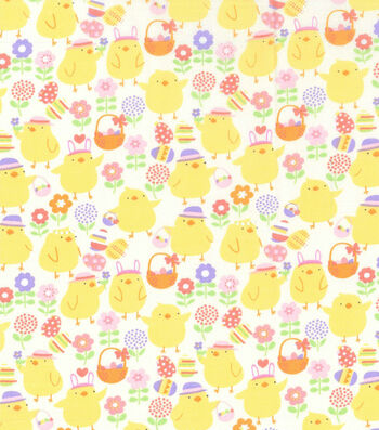 Easter Fabric -Easter Chicks