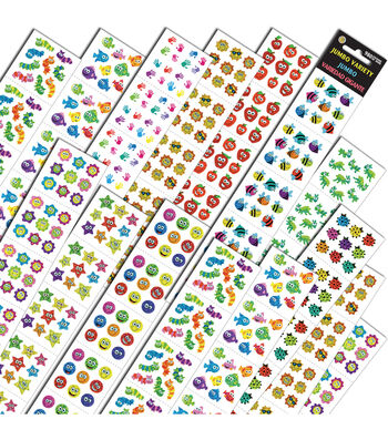 Silver Lead Co. Jumbo Variety Stickers Assortment Q 980 Per Pack