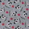 Novelty Cotton Fabric-I Woof You