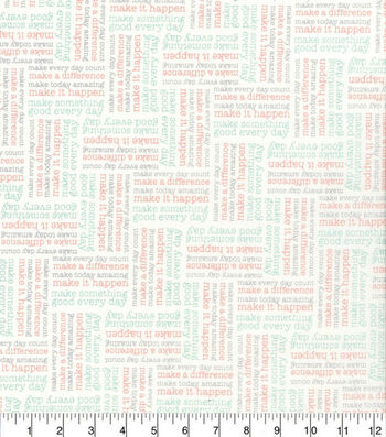 Easter Spring Pastels Cotton Fabric-Amazing