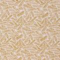 Christmas Cotton Fabric-Gold Pine Needles Glitter