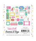 Echo Park Paper Co. Let\u0027s Party Ephemera Die-cut Cardstock-Frames & Tags