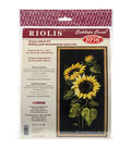 Riolis Sunflowers Counted Cross Stitch Kit