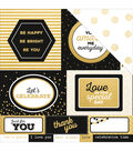 Kaisercraft A Touch Of Gold 12\u0027\u0027x12\u0027\u0027 Double-Sided Cardstock-Lavish