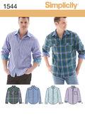 Simplicity Pattern 1544AA 34-36-38-4-Men Boy Tops Vests