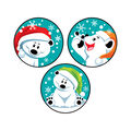 Winter Bears-Pep-BEAR-mint Stinky Stickers 48 Per Pack, 6 Packs