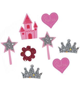 Foam Sticker Confetti-Princess 90/Pkg