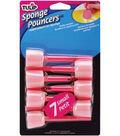 Tulip Sponge Pouncers 1\u0022 7PK