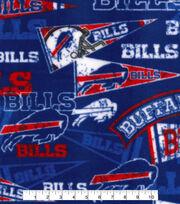 Buffalo Bills Fleece Fabric -Retro, , hi-res
