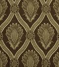 Home Decor 8\u0022x8\u0022 Fabric Swatch-Jaclyn Smith Hollywood-Coffee