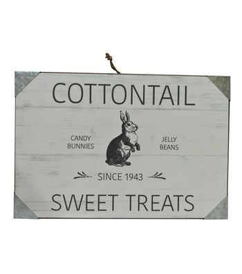 Easter Wall Decor-Cottontail Sweet Treats