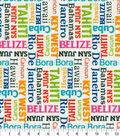 P/K Lifestyles Outdoor Fabric 54\u0027\u0027-Confetti Vacation Spots
