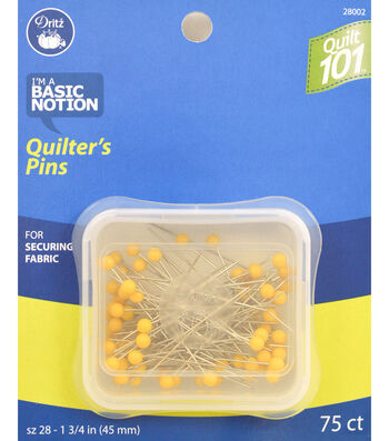 Dritz Quilt 101 Quilters Pins 75pcs