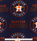Houston Astros Fleece Fabric -Logo