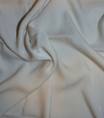 Casa Collection Sanded Satin Fabric -Eggnog