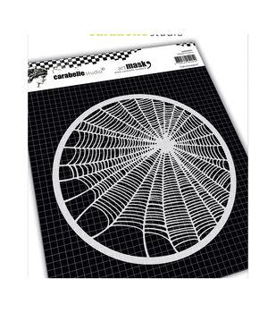 "Carabelle Studio Round Mask 6""-Spider Web"