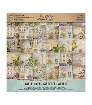 Paper Stash Vellum Wallflower