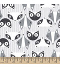 Snuggle Flannel Fabric 42\u0022-Racoon Gray