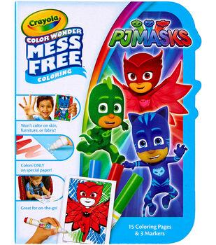Crayola Color Wonder On The Go Coloring Kit-PJ Masks