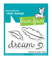 """Lawn Fawn Clear Stamps 3""""X2""""-Dream, , hi-res"""