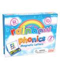 Junior Learning 84 pk Rainbow Phonics Magnetic Letters