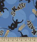 Skater Dots Print Fabric