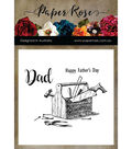 Paper Rose Clear Stamps-Toolbox