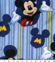 Disney Mickey Mouse Fleece Fabric -Framed, , hi-res