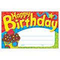 Trend Enterprises Inc. Happy Birthday The Bake Shop Awards, 30/Pack