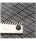 Heidi Swapp Marquee Love Lightbox Mini Storage Album-Black & White