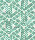 P/K Lifestyles Outdoor Fabric-Top Sail Trellis Aqua