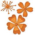 Spellbinders Shapeabilities Die D-Lites-Blooms 3
