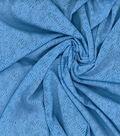 Kathy Davis Apparel Fabric 59\u0027\u0027-Light Blue Chevron Burnout