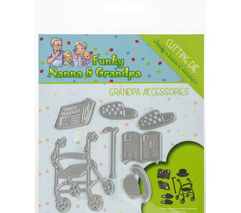 Find It Trading Yvonne Creations Die-Grandpa Accessories