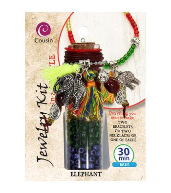 Jewelry Kit In A Bottle-Elephant