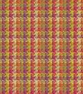 Home Decor 8\u0022x8\u0022 Fabric Swatch-HGTV HOME Checkered Past Berry