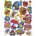 Super Class Sparkle Stickers 12 Packs