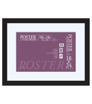 Poster Float Frame 18''x24''-Black