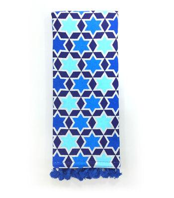 Hanukkah 16''x28'' Kitchen Towel-Star of David