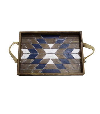 Camp Ann Small Wood Tray