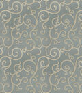 Eaton Square Lightweight Decor Fabric 54\u0022-Crossfire/Ice Blue