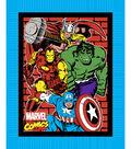 No-Sew Throw Fabric -Marvel Comics