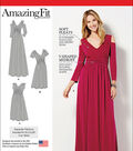 Simplicity Patterns Us1102Bb-Simplicity Misses& Plus Size Amazing Fit Dress In Knit-20W-28W