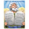 Carson-Dellosa The Ten Commandments Moses Chart 6pk