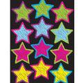 Die Cut Magnet Scribble Stars 12/pk, Set Of 6 Packs