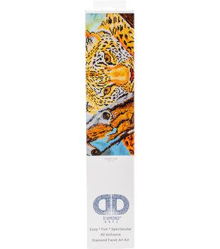 "Diamond Embroidery Facet Art Kit 21.7""X17.2""-Leopard Look"